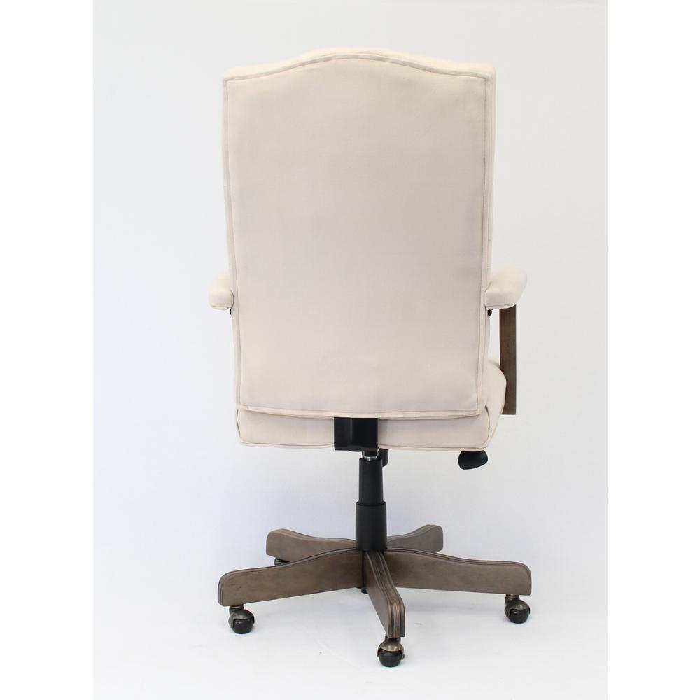 BOSS Executive Champagne Velvet With Driftwood Finish Frame. Picture 4