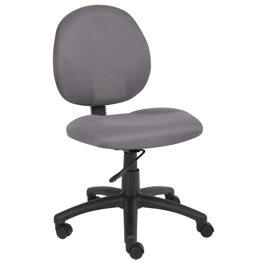 Boss Diamond Task Chair In Grey. Picture 1