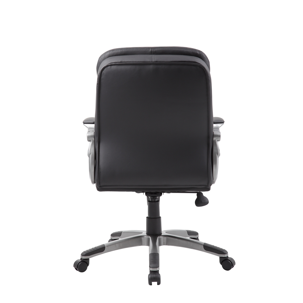 Boss Executive Mid Back Pillow Top Chair. Picture 2