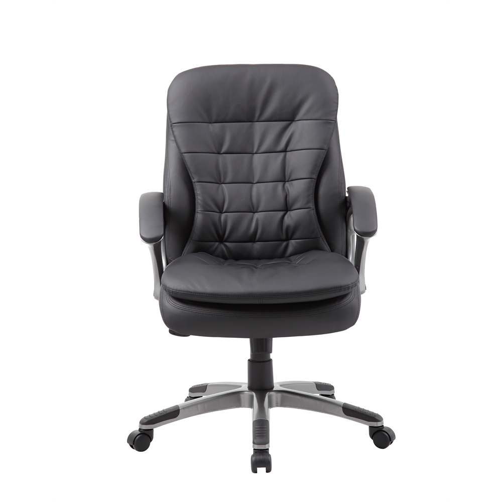 Boss Executive Mid Back Pillow Top Chair. Picture 3