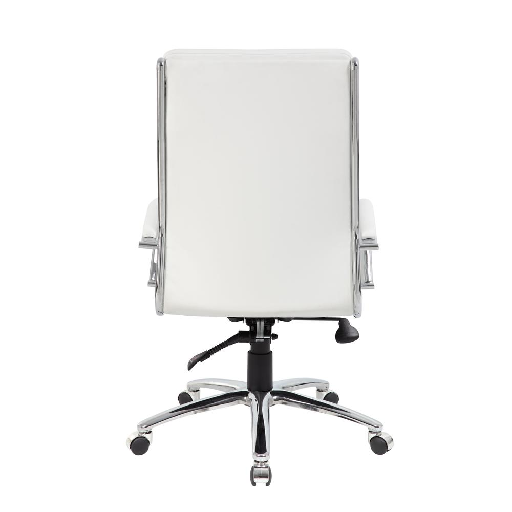Boss Executive CaressoftPlus™ Chair with Metal Chrome Finish. Picture 1