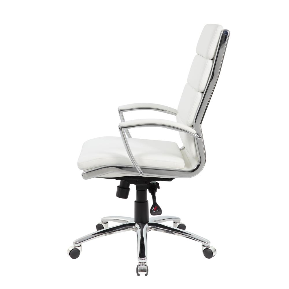 Boss Executive CaressoftPlus™ Chair with Metal Chrome Finish. Picture 2