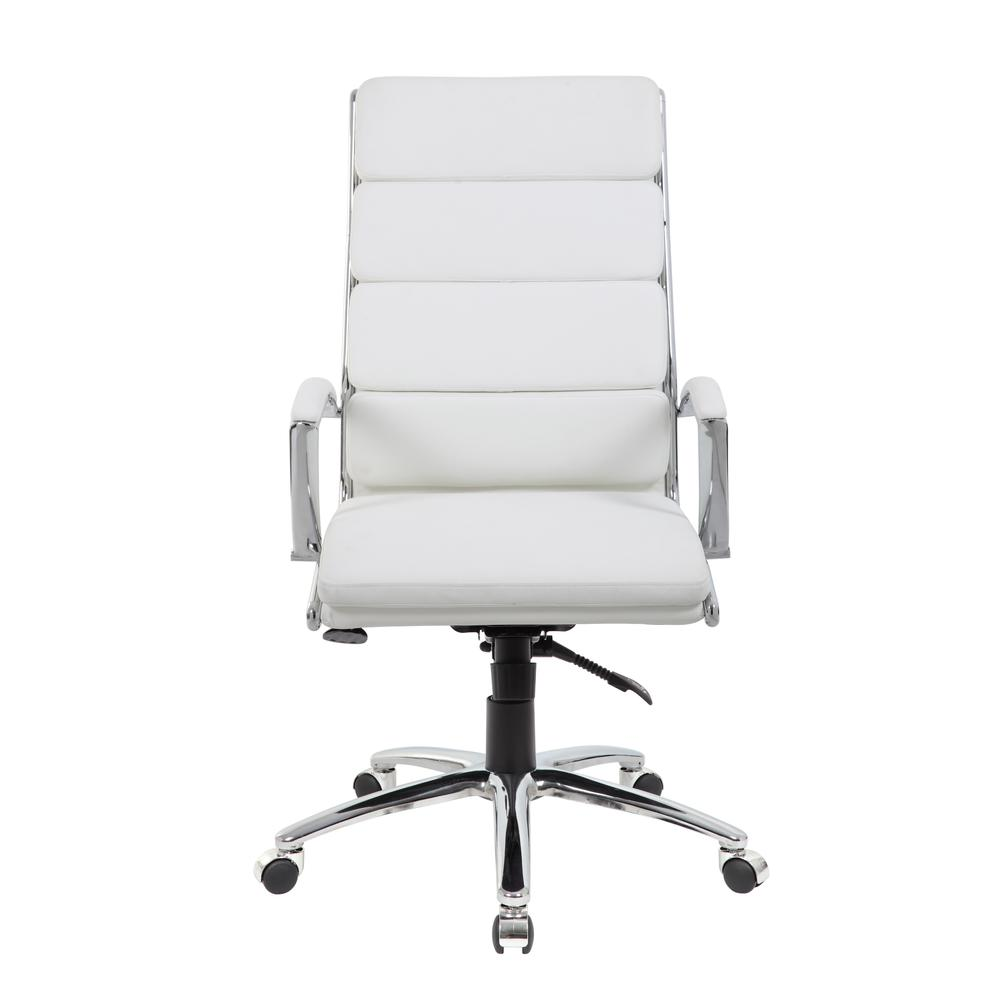 Boss Executive CaressoftPlus™ Chair with Metal Chrome Finish. Picture 4