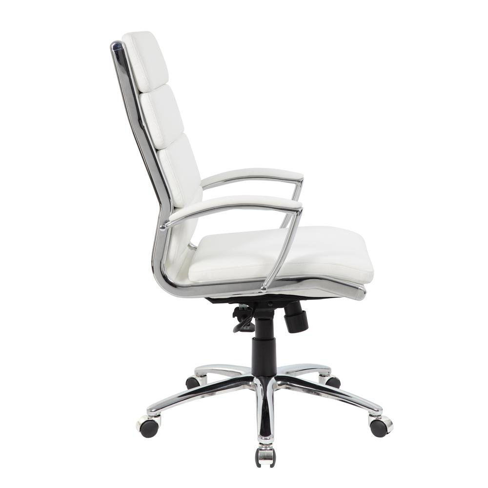 Boss Executive CaressoftPlus™ Chair with Metal Chrome Finish. Picture 5