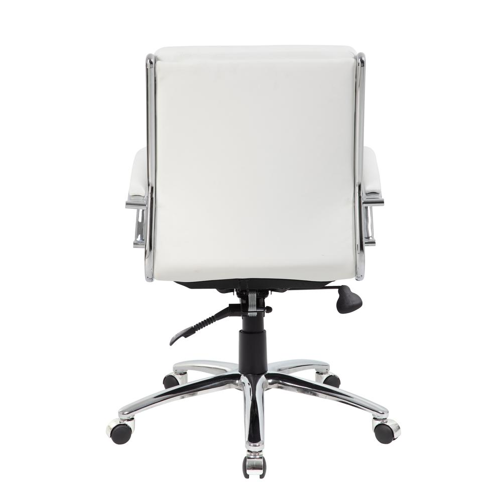 Boss Executive CaressoftPlus™ Chair with Metal Chrome Finish - Mid Back. Picture 4