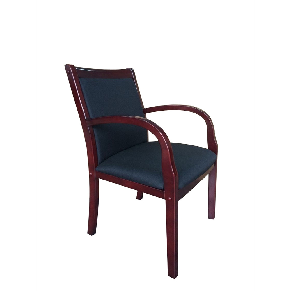 Boss Wood Side Guest Chair. Picture 7