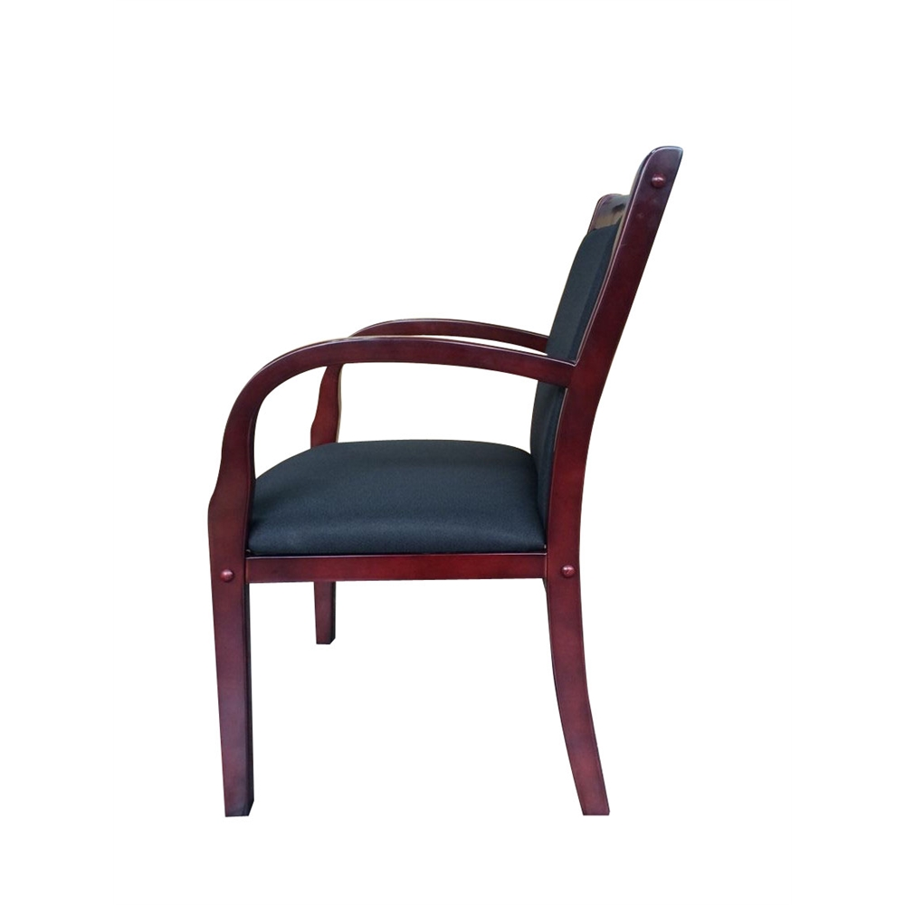 Boss Wood Side Guest Chair. Picture 5