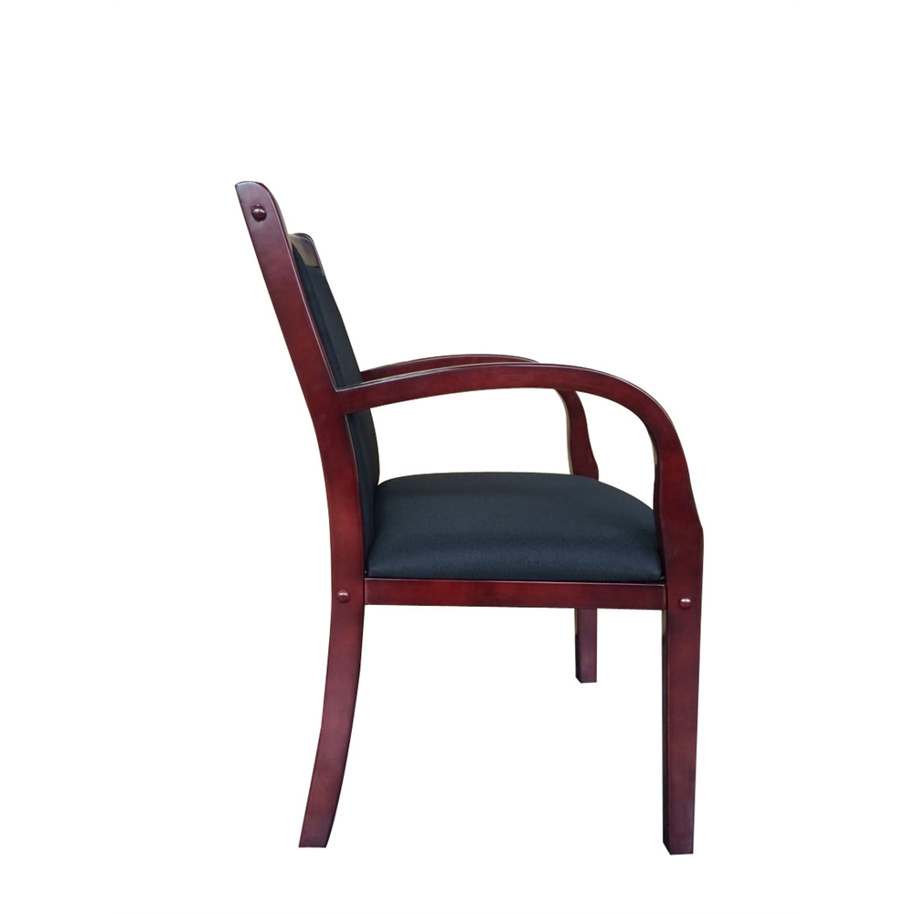 Boss Wood Side Guest Chair. Picture 6