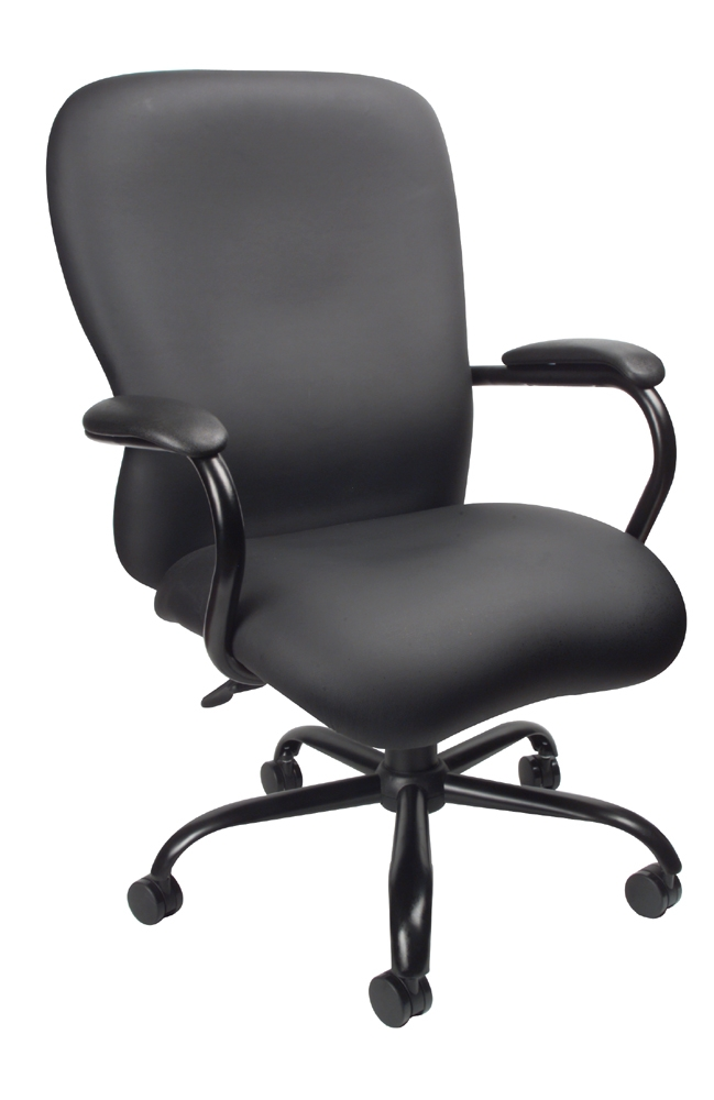 Boss Heavy Duty CaressoftPlus Chair - 400 Lbs.. Picture 1