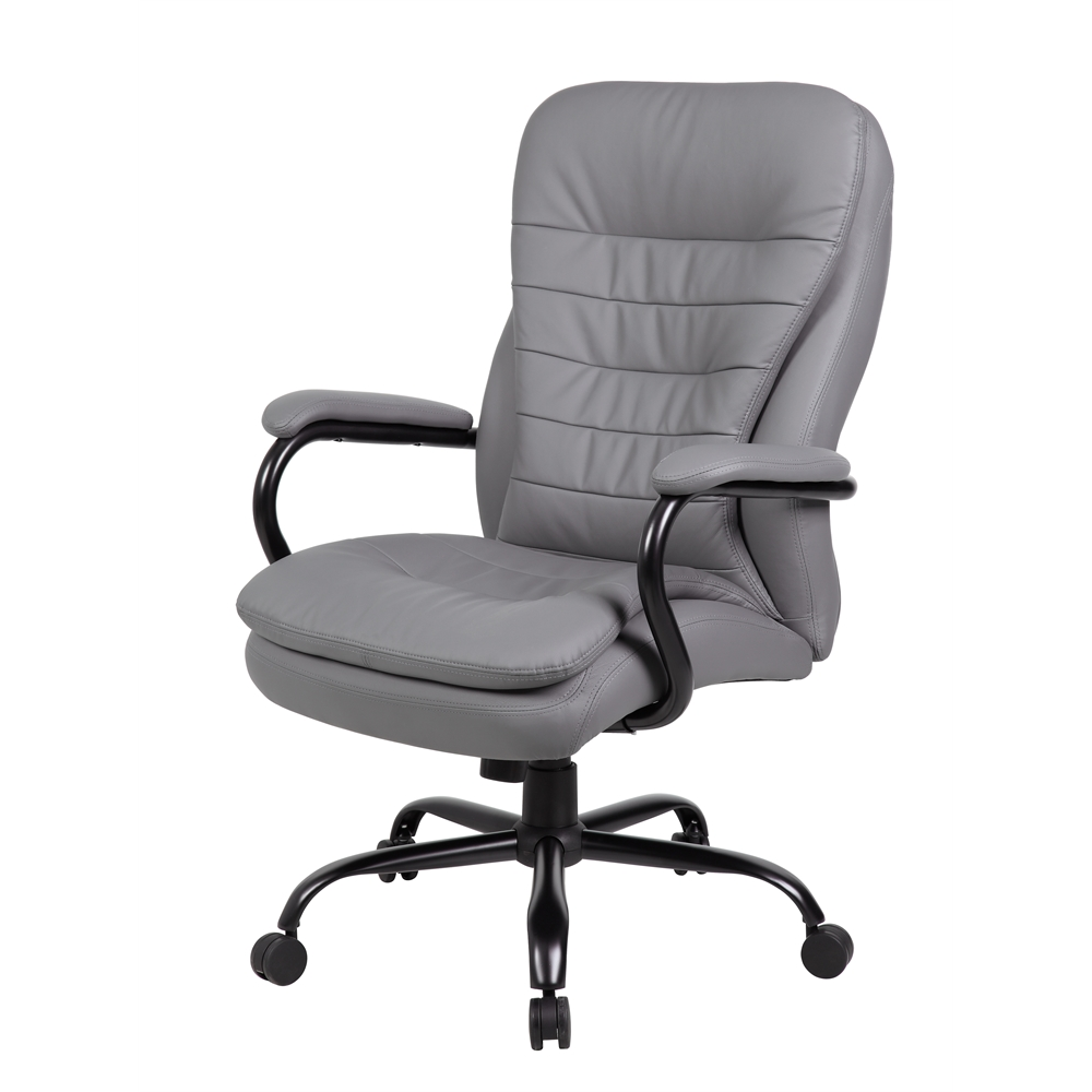 Boss Heavy Duty Double Plush Caressoftplus Chair 350 Lbs