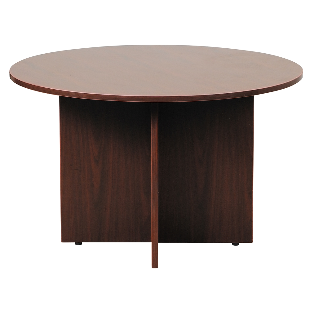 """Boss 47"""" Round Table, Mahogany. Picture 2"""