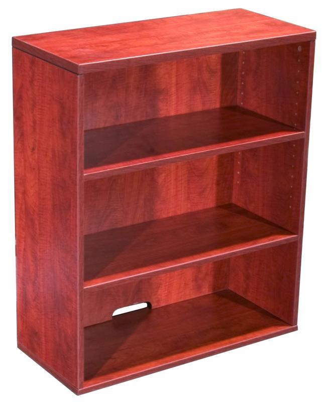 Boss Open Hutch/Bookcase- Cherry. Picture 1