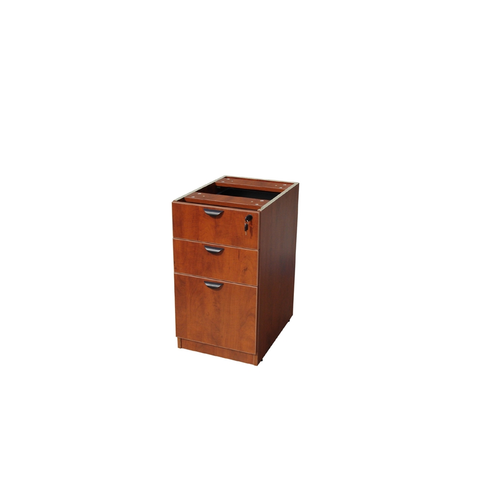 Boss Deluxe Pedestal-Full, Box/Box/File, 15.5W*22D, Cherry. Picture 1