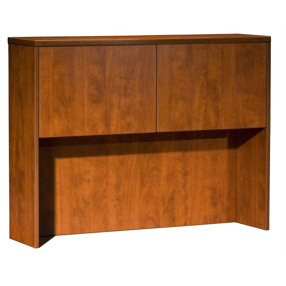 Boss Hutch With 2 Doors, Cherry 48*12*36. Picture 1