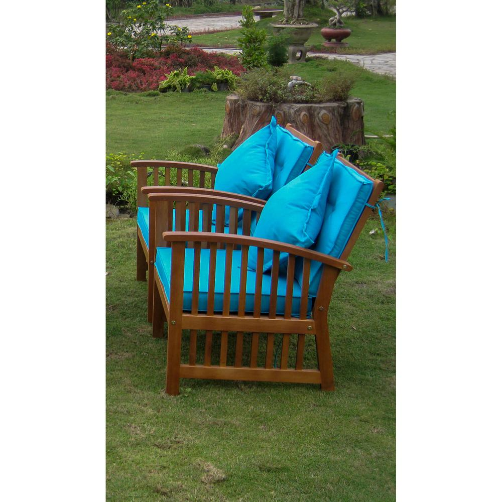 Royal Tahiti Set of Two Phuket Armchair with Cushions. Picture 1