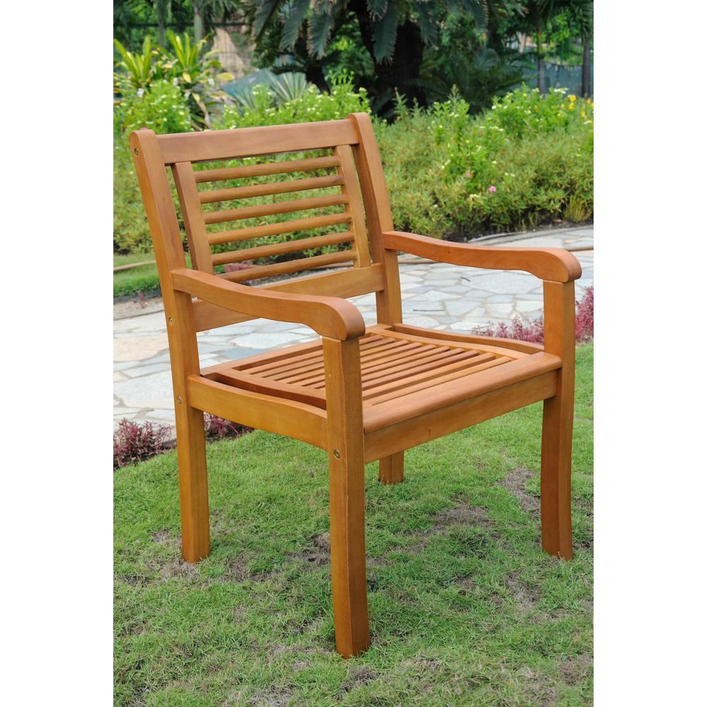 Royal Tahiti Bar Harbor Set of 2 Arm Chair. Picture 1
