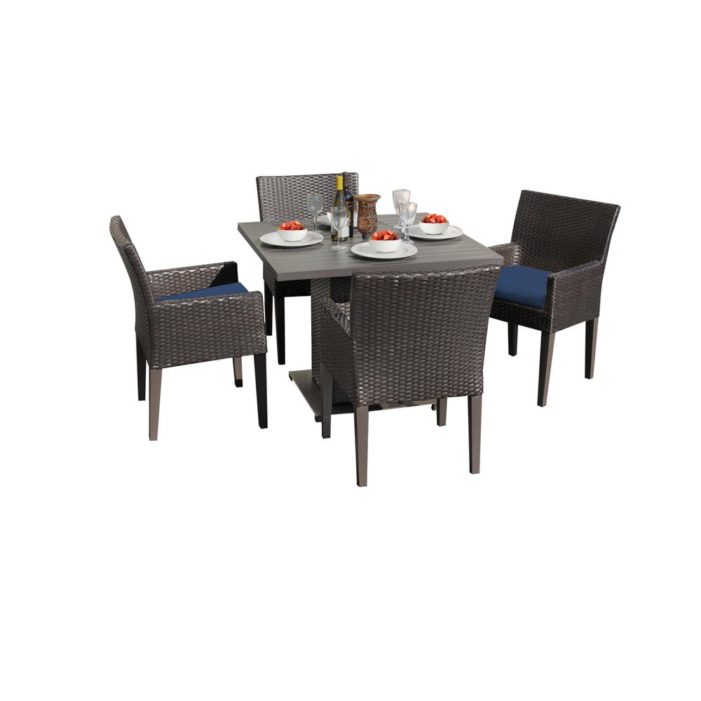 Square Dining Chairs: Barbados Square Dining Table With 4 Chairs
