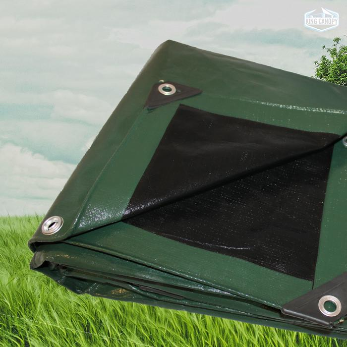 Green Black Super Heavy Duty Tarp 12x20