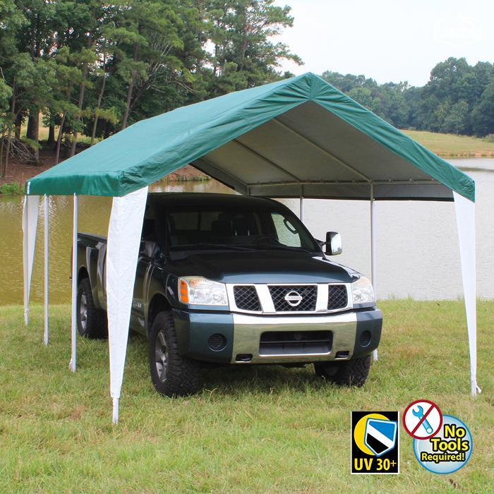HERCULES 10X20 Canopy w/ GREEN/WHITE Cover