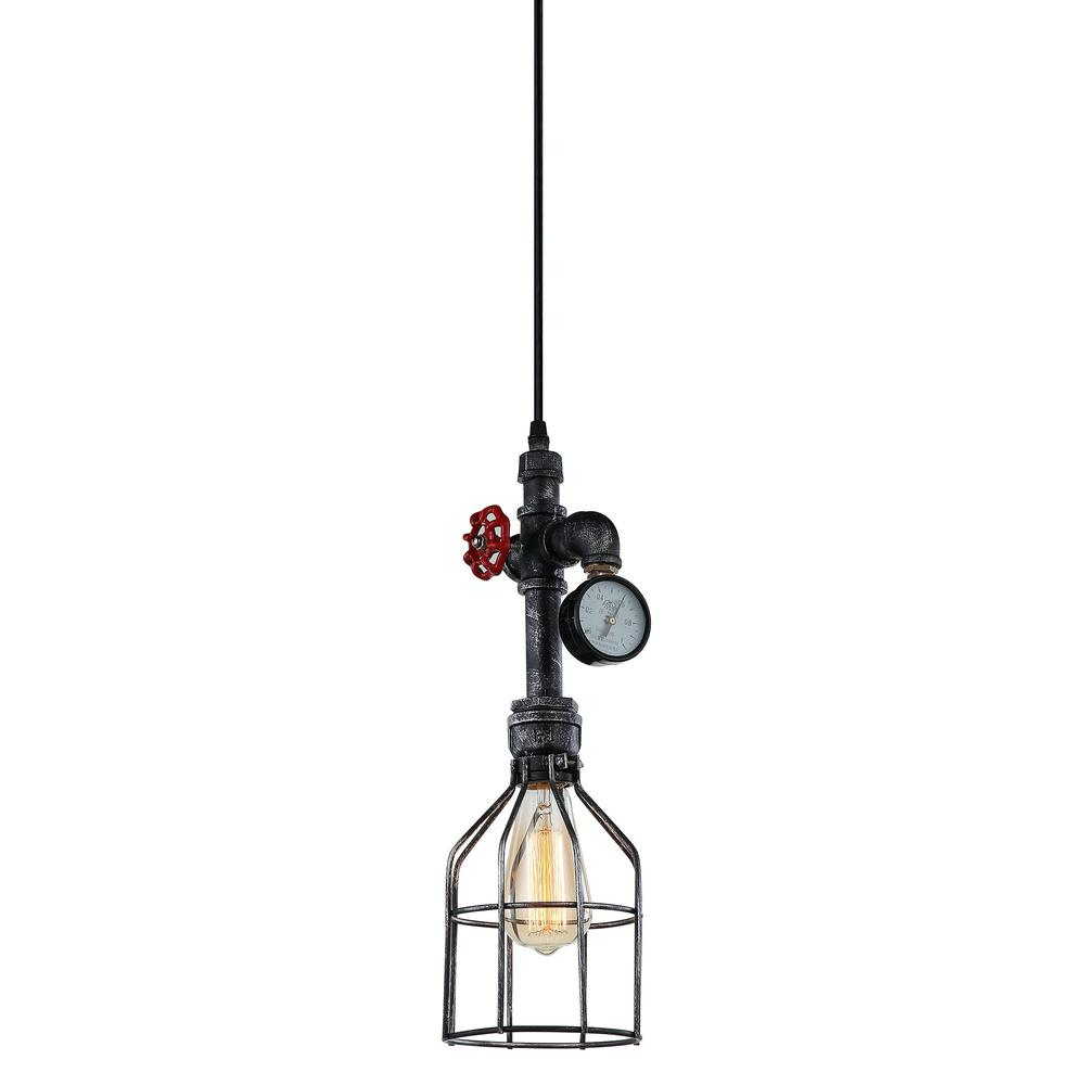 Element Industrial Pipe & Gauge Pendant Light