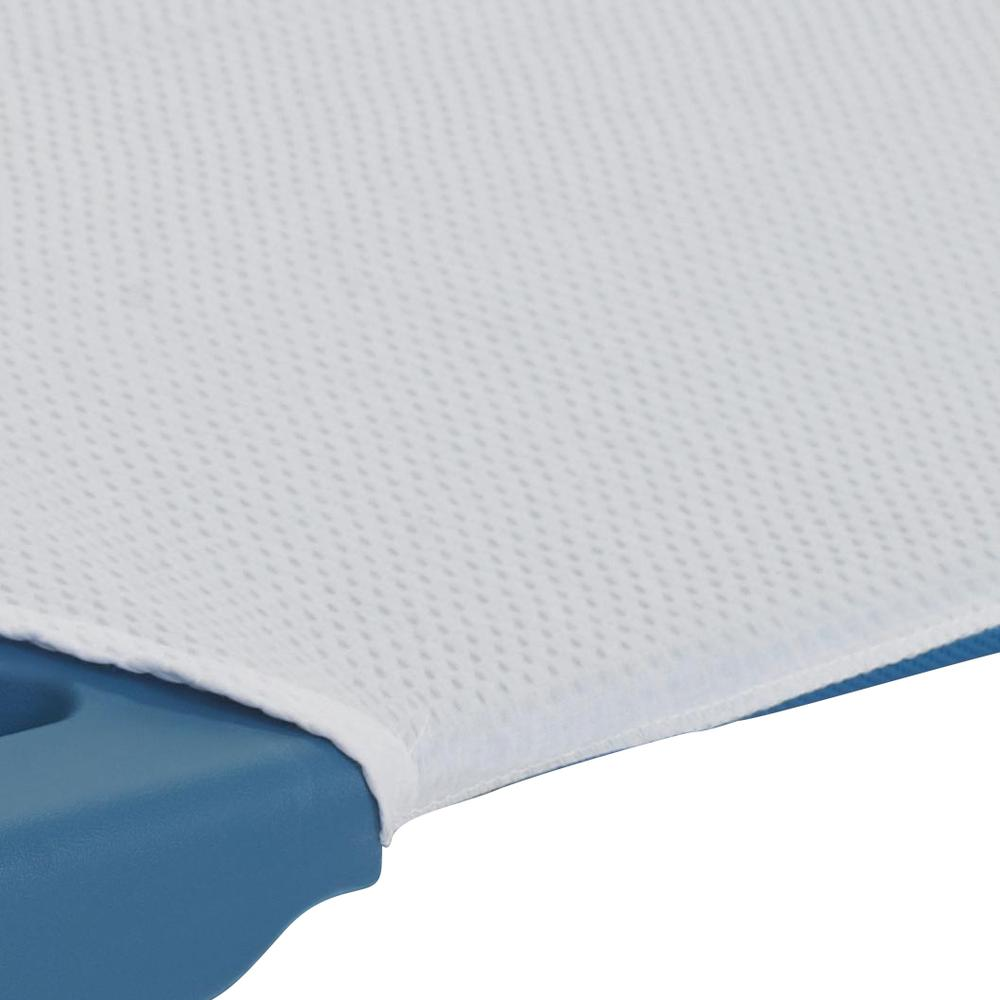 Angels Rest® White Cot Sheet – Toddler Size. Picture 3