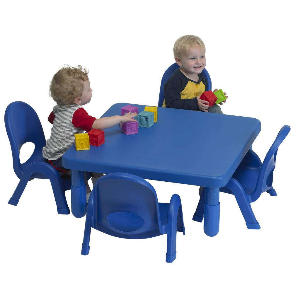Toddler MyValue™ Set 4 Square - Royal Blue. Picture 5
