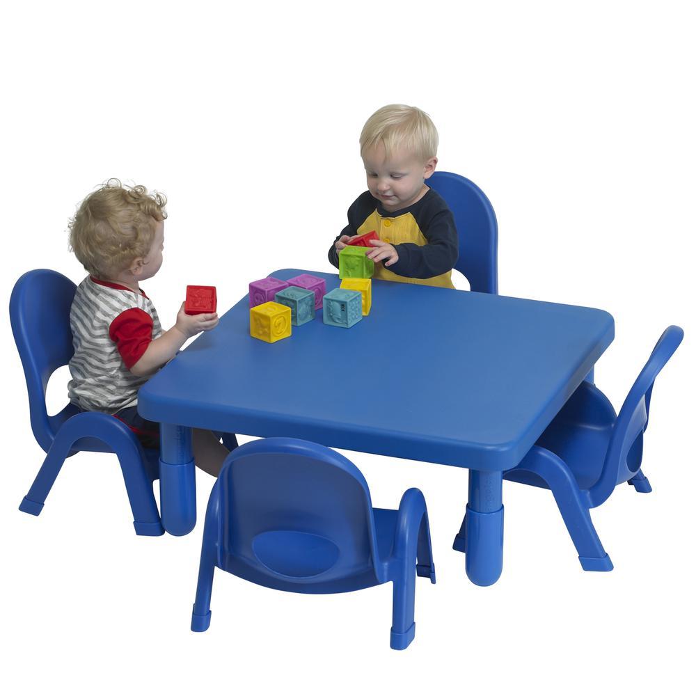 Toddler MyValue™ Set 4 Square - Royal Blue. Picture 2