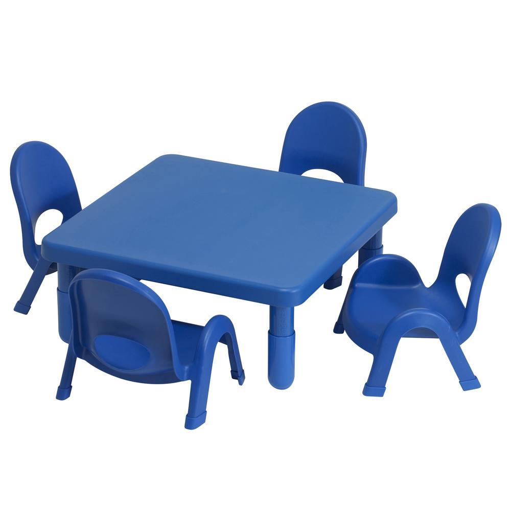 Toddler MyValue™ Set 4 Square - Royal Blue. Picture 3