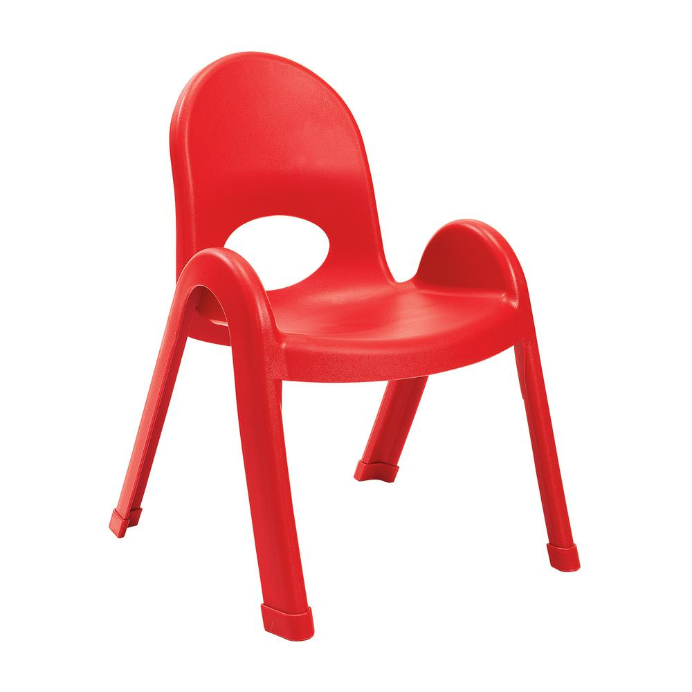 """Value Stack™ 11"""" Child Chair - Candy Apple Red. Picture 1"""