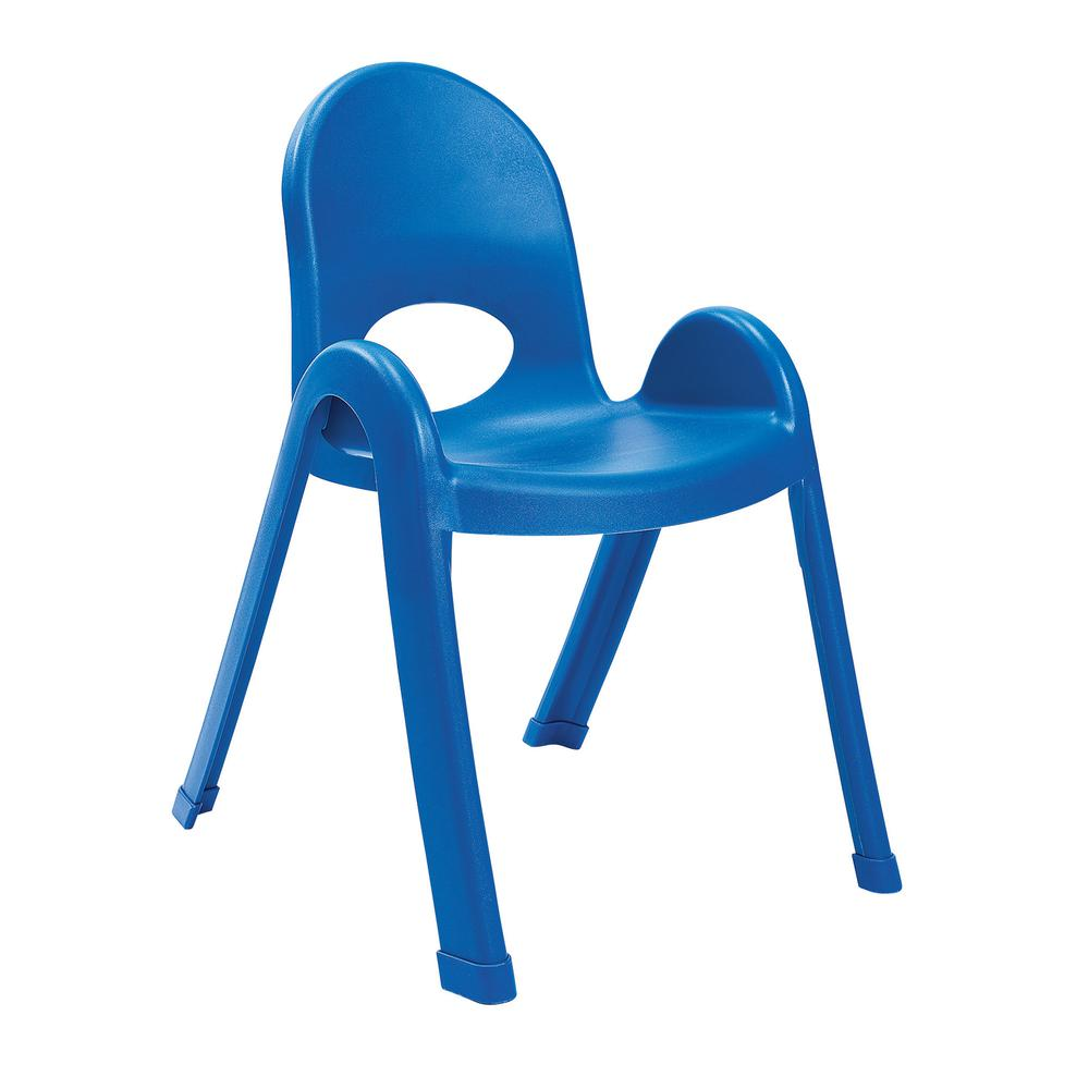 """Value Stack™ 13"""" Child Chair - Royal Blue. Picture 1"""