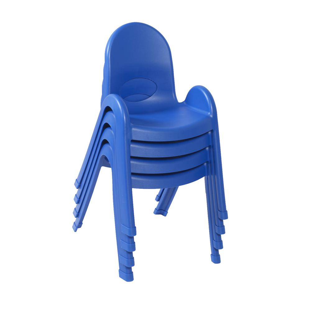 """Value Stack™ 13"""" Child Chair - Royal Blue. Picture 2"""