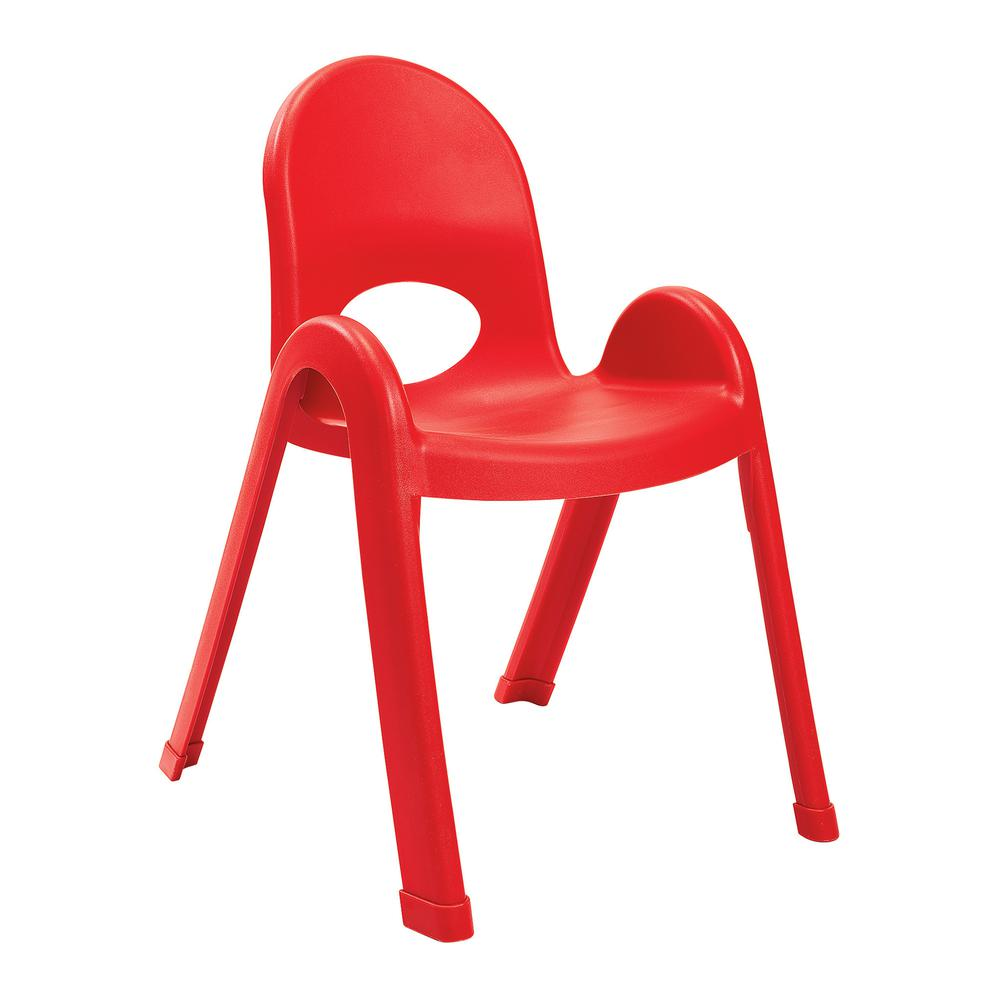 """Value Stack™ 13"""" Child Chair - Candy Apple Red. Picture 1"""
