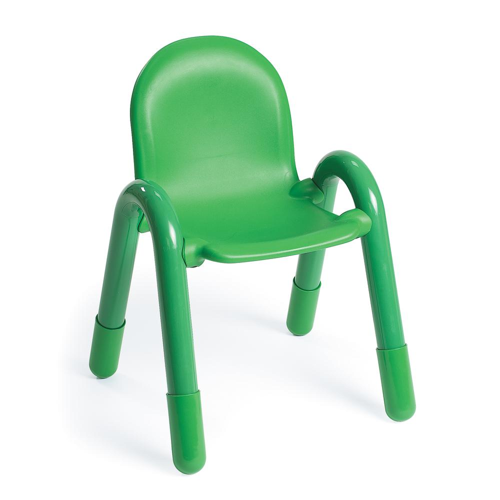 """BaseLine® 13"""" Child Chair - Shamrock Green. Picture 1"""