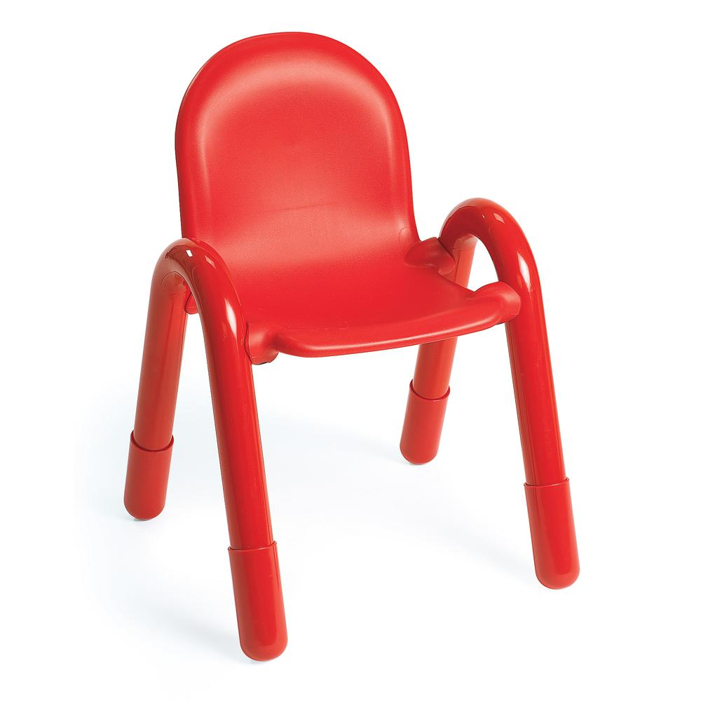 """BaseLine® 13"""" Child Chair - Candy Apple Red. Picture 1"""
