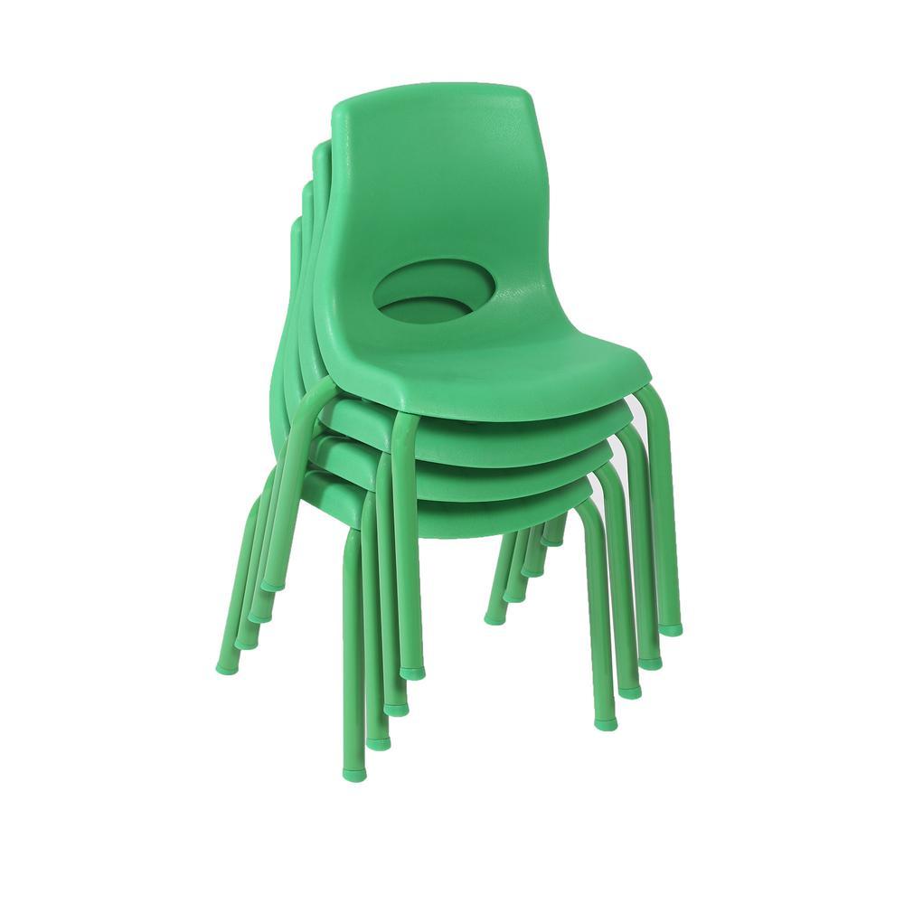 "MyPosture™ 10"" Child Chair - Green. Picture 2"