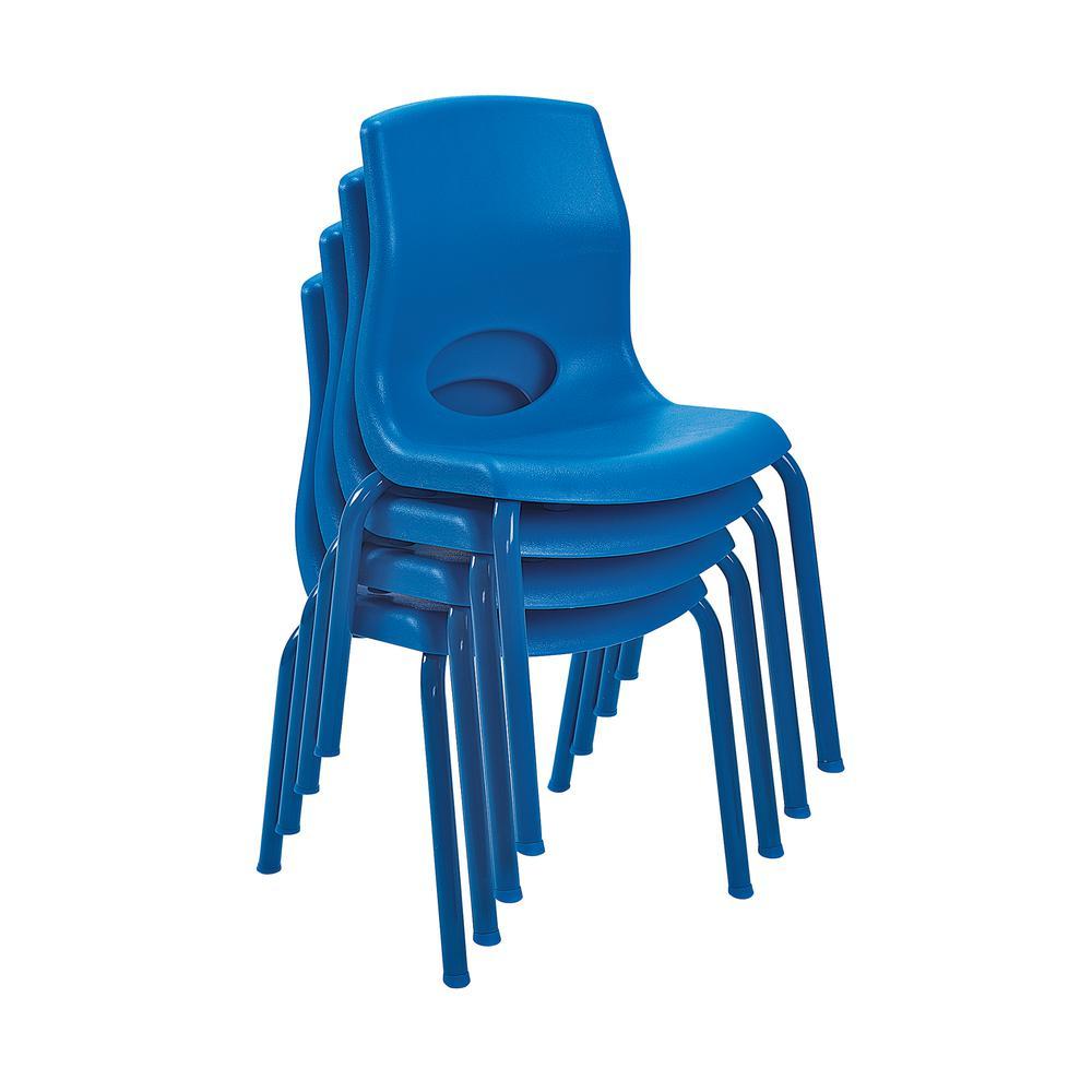 "MyPosture™ 12"" Child Chair - Blue. Picture 2"