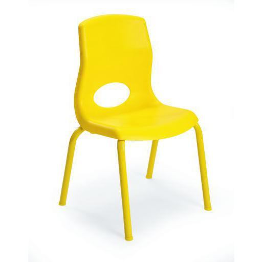 "MyPosture™ 12"" Child Chair - Yellow. Picture 1"