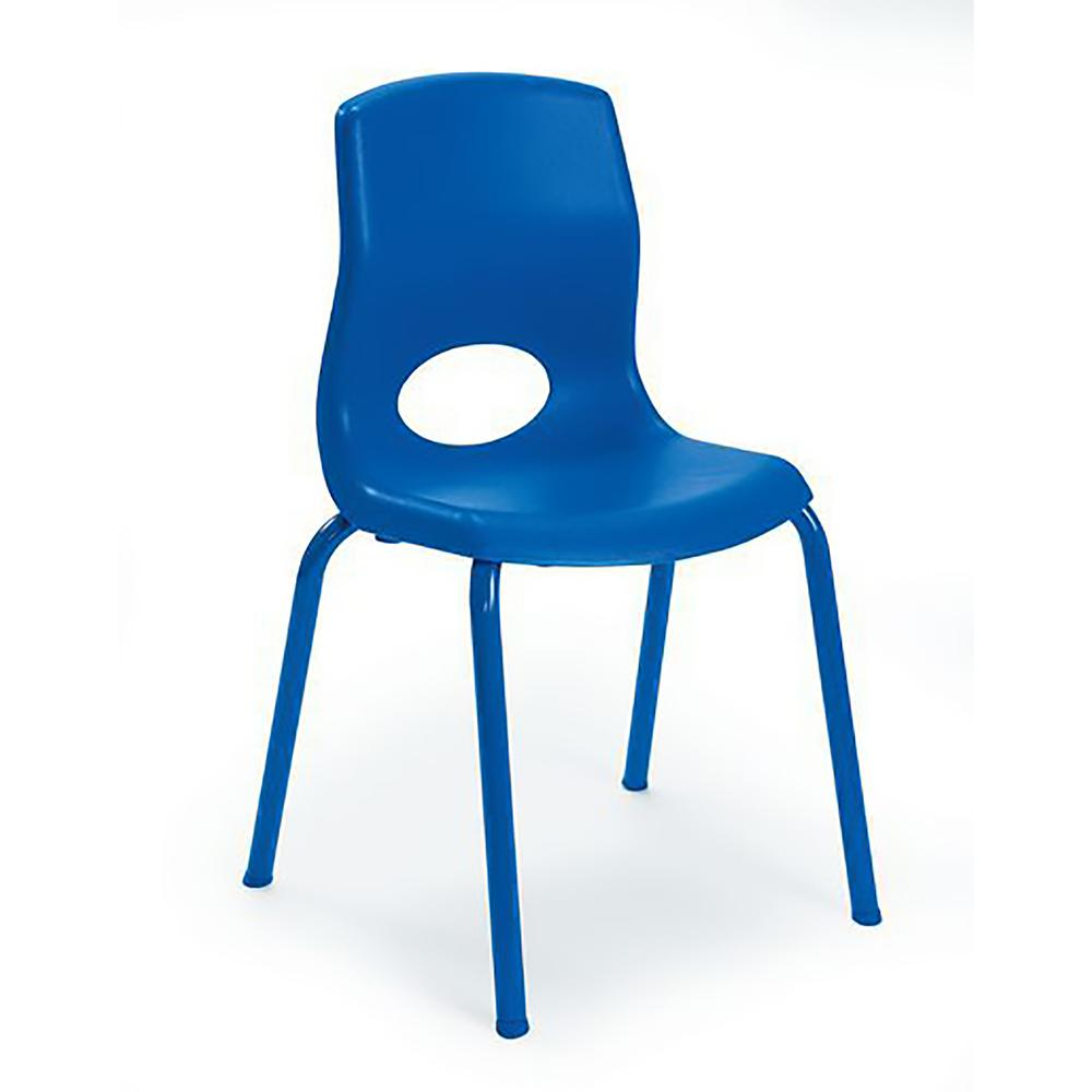 "MyPosture™ 14"" Child Chair - Blue. Picture 2"