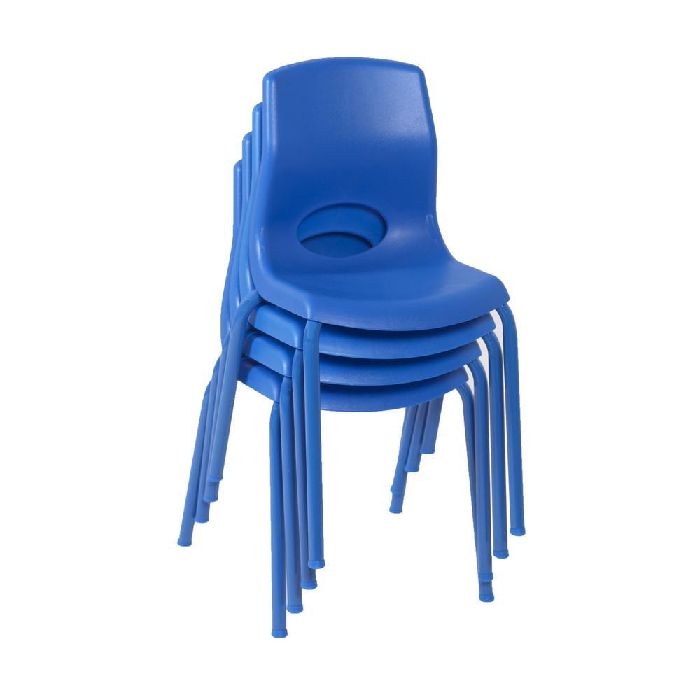 "MyPosture™ 14"" Child Chair - Blue. Picture 1"