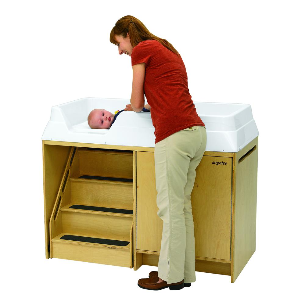 Changing Table with Locking Stairs. Picture 5