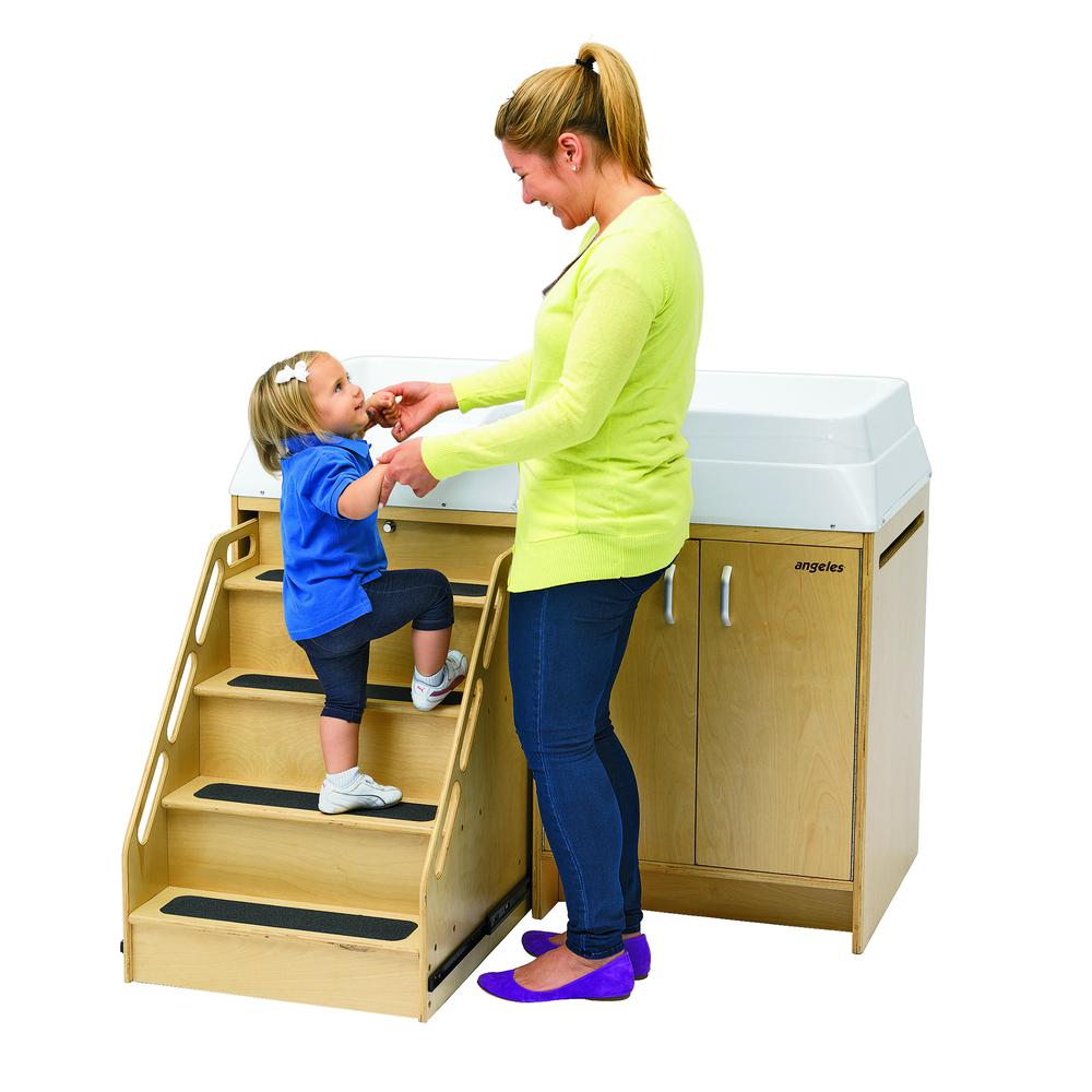 Changing Table with Locking Stairs. Picture 6