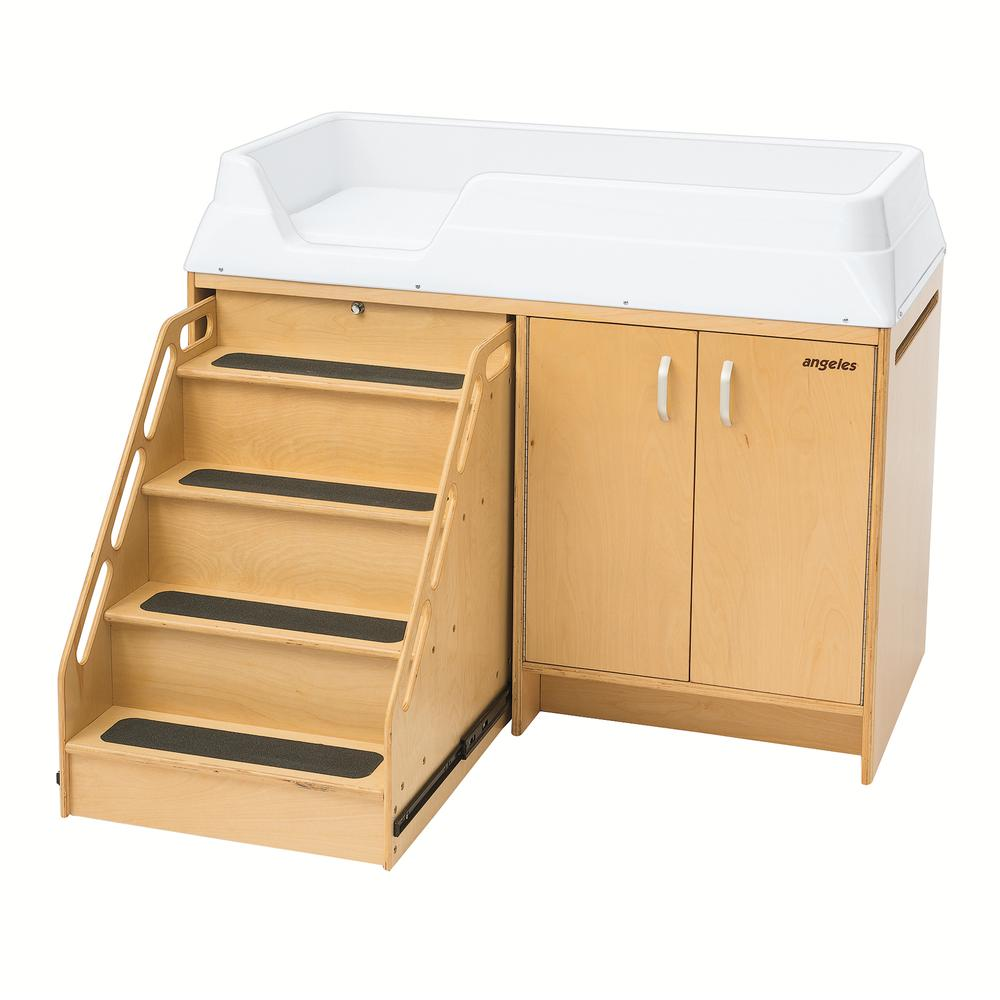 Changing Table with Locking Stairs. Picture 1