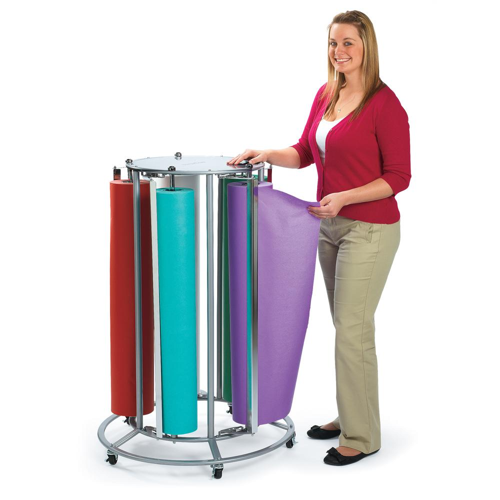 5-Roll Paper Rack. Picture 2