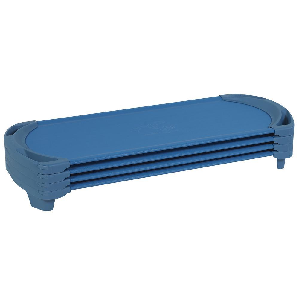 SpaceLine® Standard Cot - 4 Pack - Ocean. Picture 1