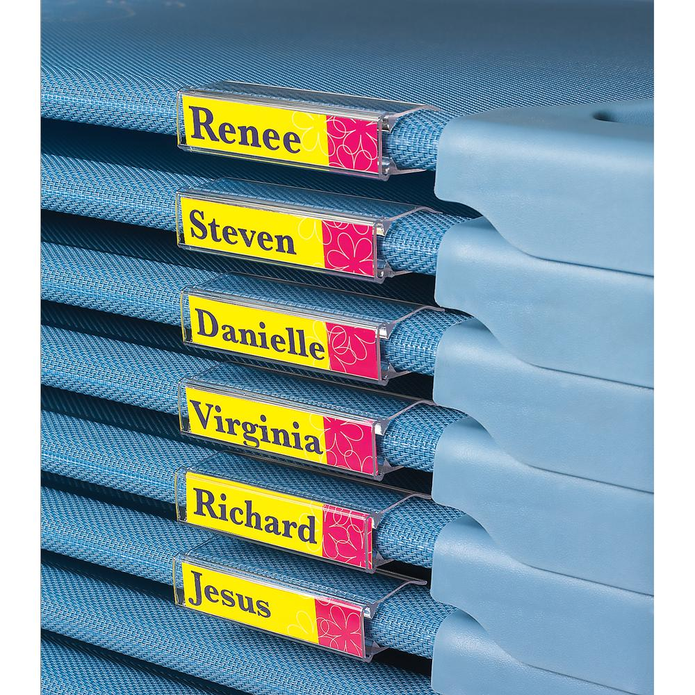 Angels Rest® Cot Name Clip - 5 Pack. Picture 1