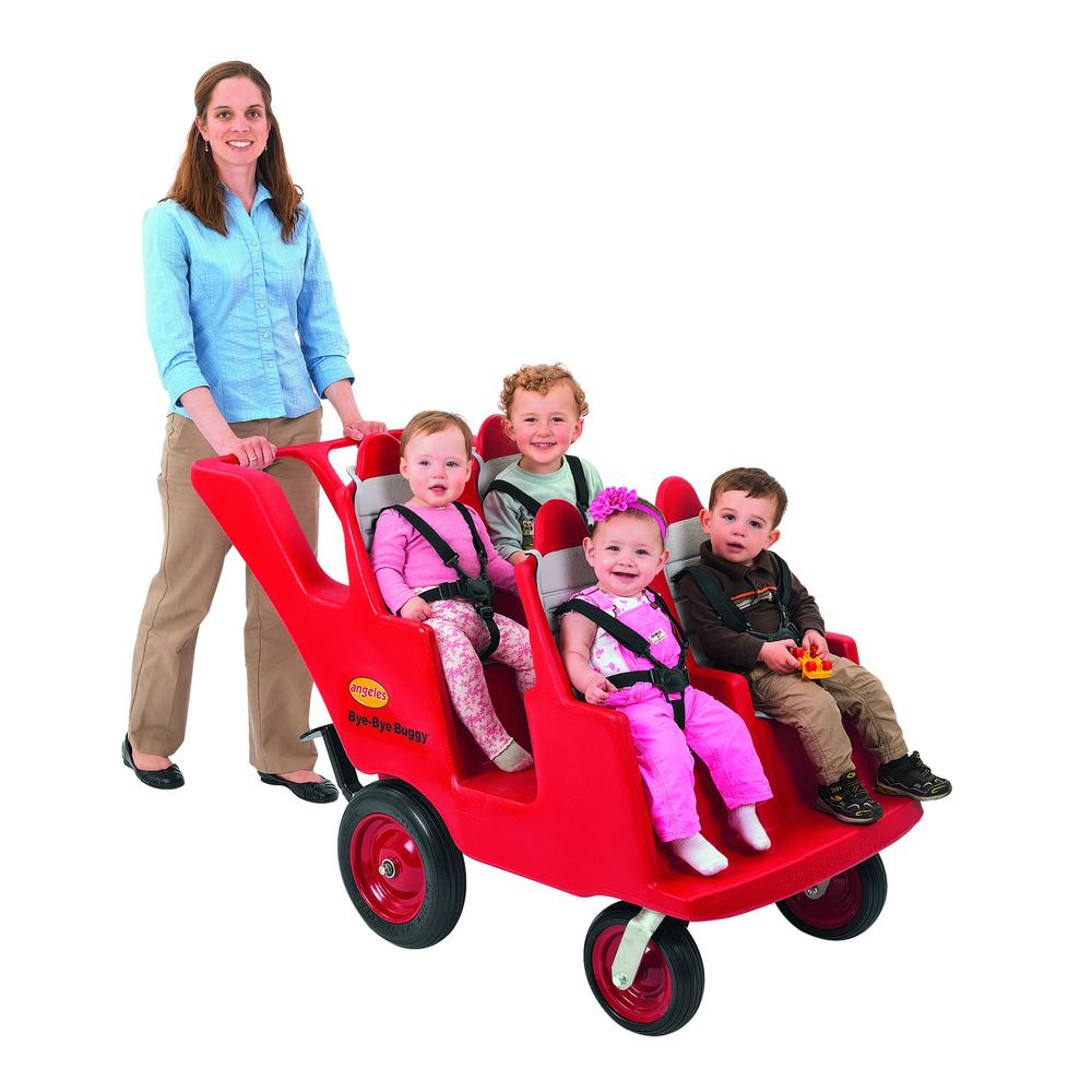 """4 Passenger Never Flat """"Fat Tire"""" Bye Bye Buggy®. Picture 1"""