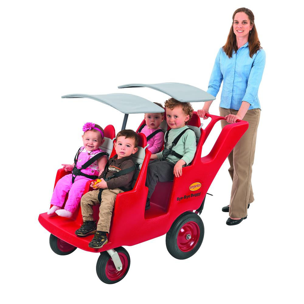 """4 Passenger Never Flat """"Fat Tire"""" Bye Bye Buggy®. Picture 2"""