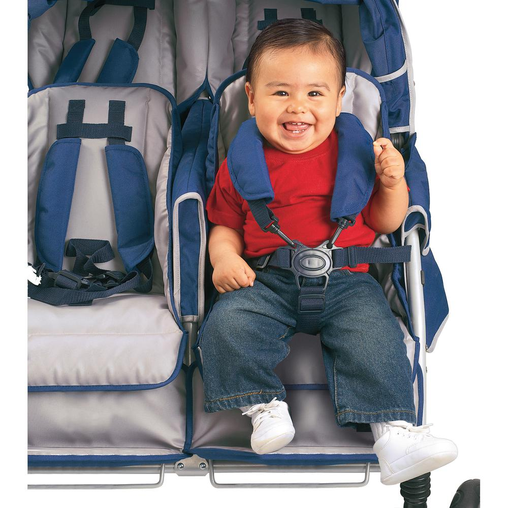 SureStop™ Folding Commercial Bye-Bye® Stroller 6 Passenger. The main picture.