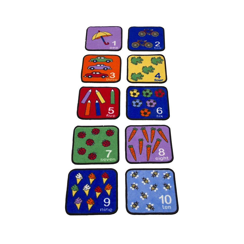 Let's Learn How to Count Seating Squares - Set of 10. Picture 3