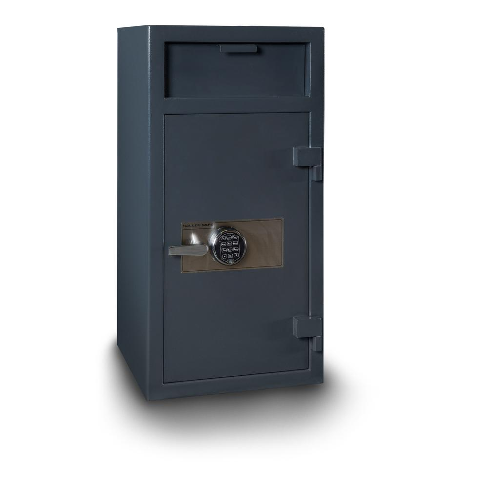 Depository Safe Gray. Picture 1